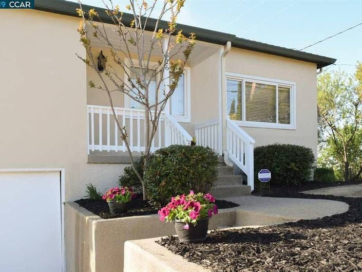 Enjoy The Views From This Martinez Home With RV Parking: $590K