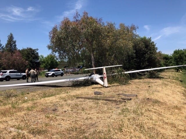 Small Plane Crashes Near Sonoma Airport | Sonoma Valley, CA