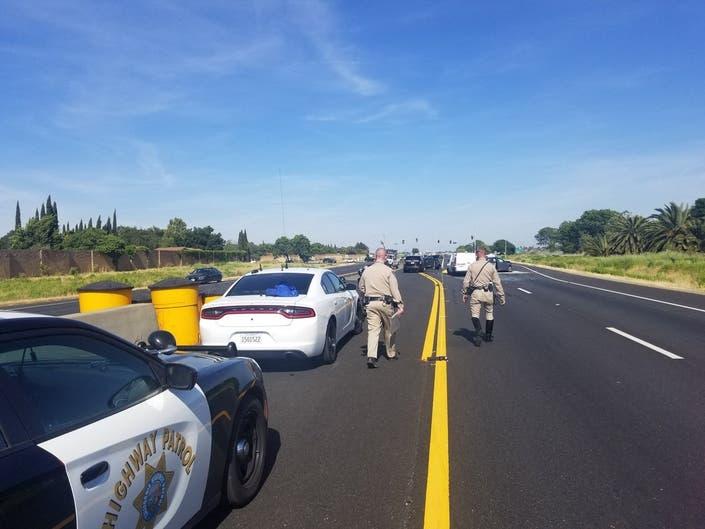 Fatal Crash Blocks Highway 12 in Fairfield
