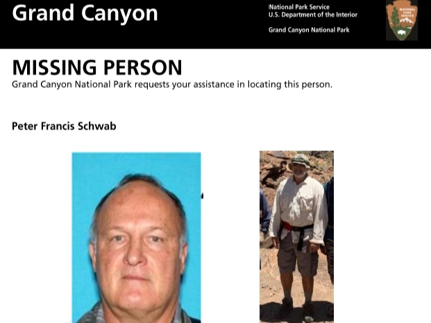 Body Found In Grand Canyon Believed To Be Missing North Bay