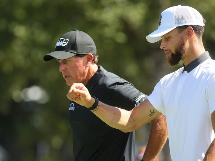 Steph Curry, Tony Romo Impress At Safeway Open Pro-Am: PHOTOS