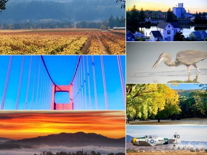 Soaring Over SoCal | Fall Colors Adorn Wine Country: CA In Photos