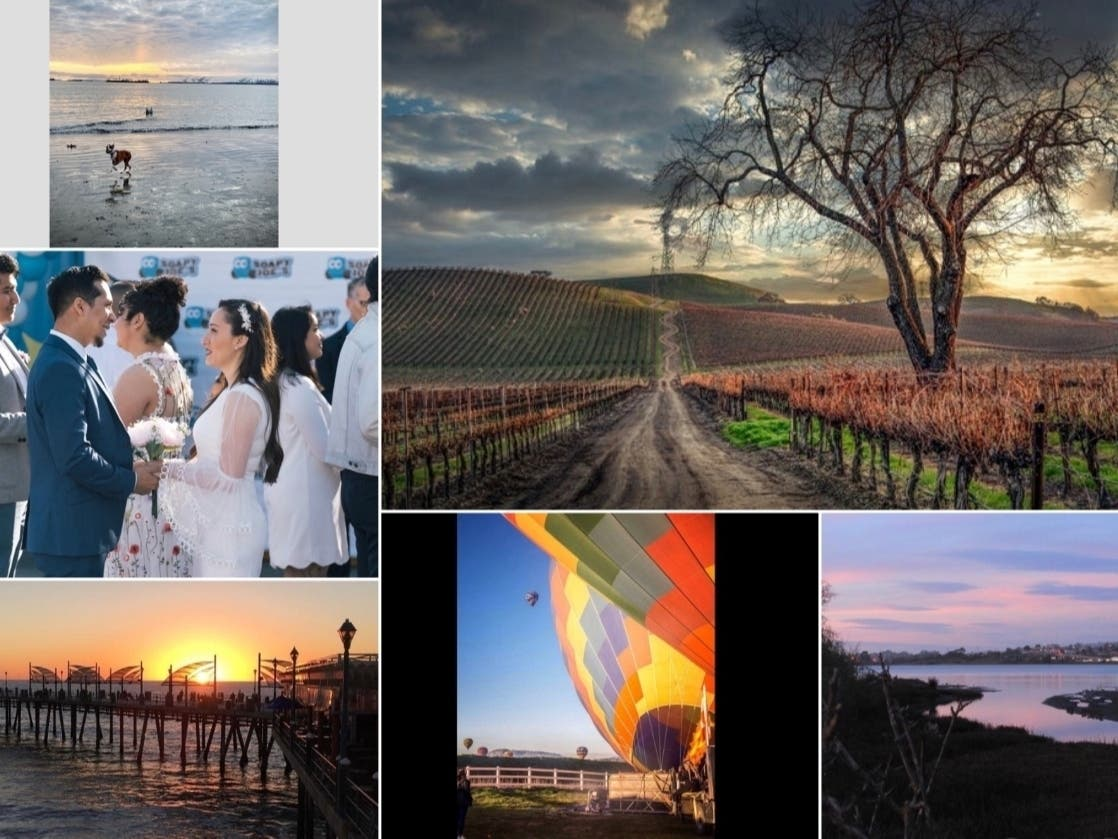 Car Wash Weddings; Vineyard View; Holiday Balloons: CA In Photos