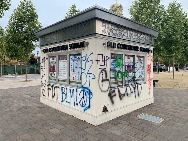 Peaceful Protests Transition To Vandalism, Looting: Santa Rosa PD