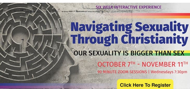 """Navigating Sexuality Through Christianity: It's Bigger than Sex"""