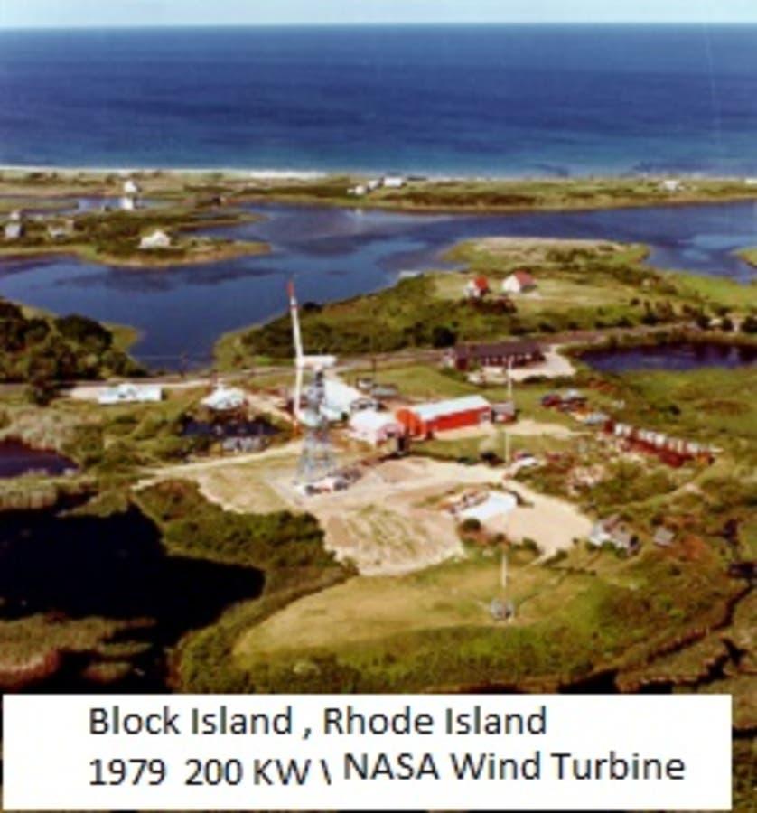 Block Island: Block Island, Rhode Island Wind Turbine Infra-Sound 1979