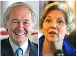 Massachusetts Senator Ed Markey & Senator Elizabeth Warren