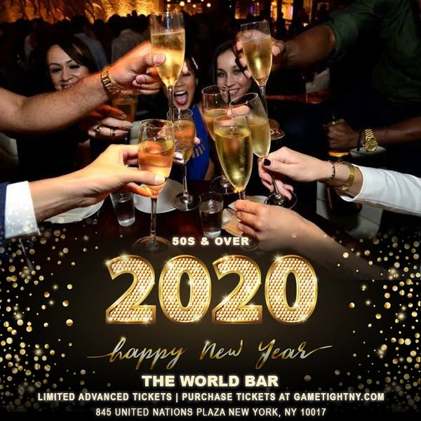 Dec 31 The World Bar Nyc 50s Amp Over New Year S Eve Party