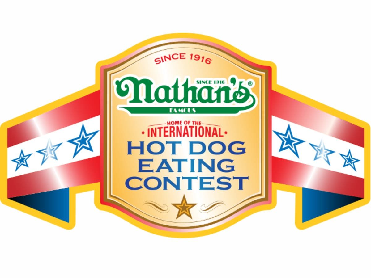 Image result for Nathan's Famous hot dog eating contest