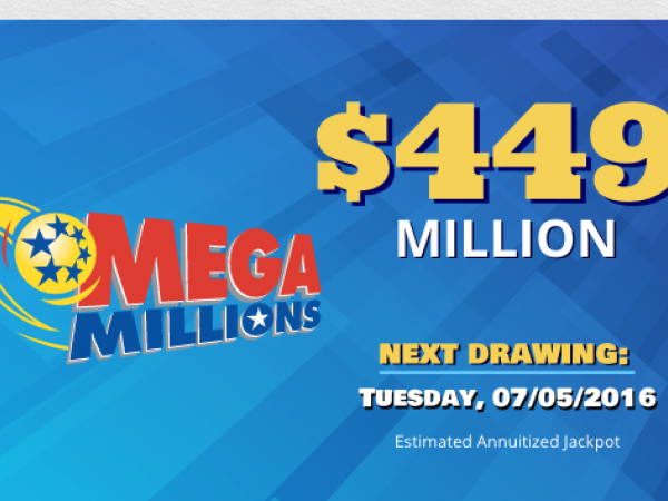 Mega Millions Jackpot Nears 450 Million For Tonight S Drawing Gilroy Ca Patch