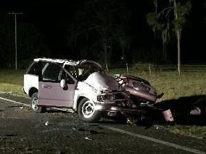 2 Killed, 3 Hurt in Tragic U S  27 Crash
