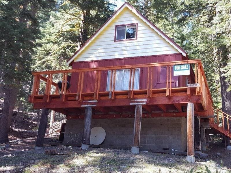 A Summer Mountain Cabin Can Be Yours: $169K In Kirkwood