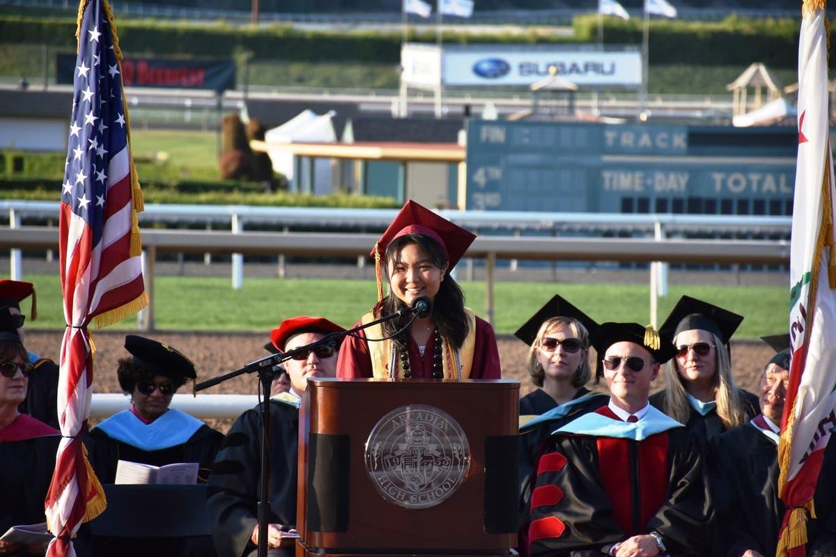 Arcadia High School Halloween 2020 Arcadia High School Class of 2018 Hits Rare 100% Graduation Rate