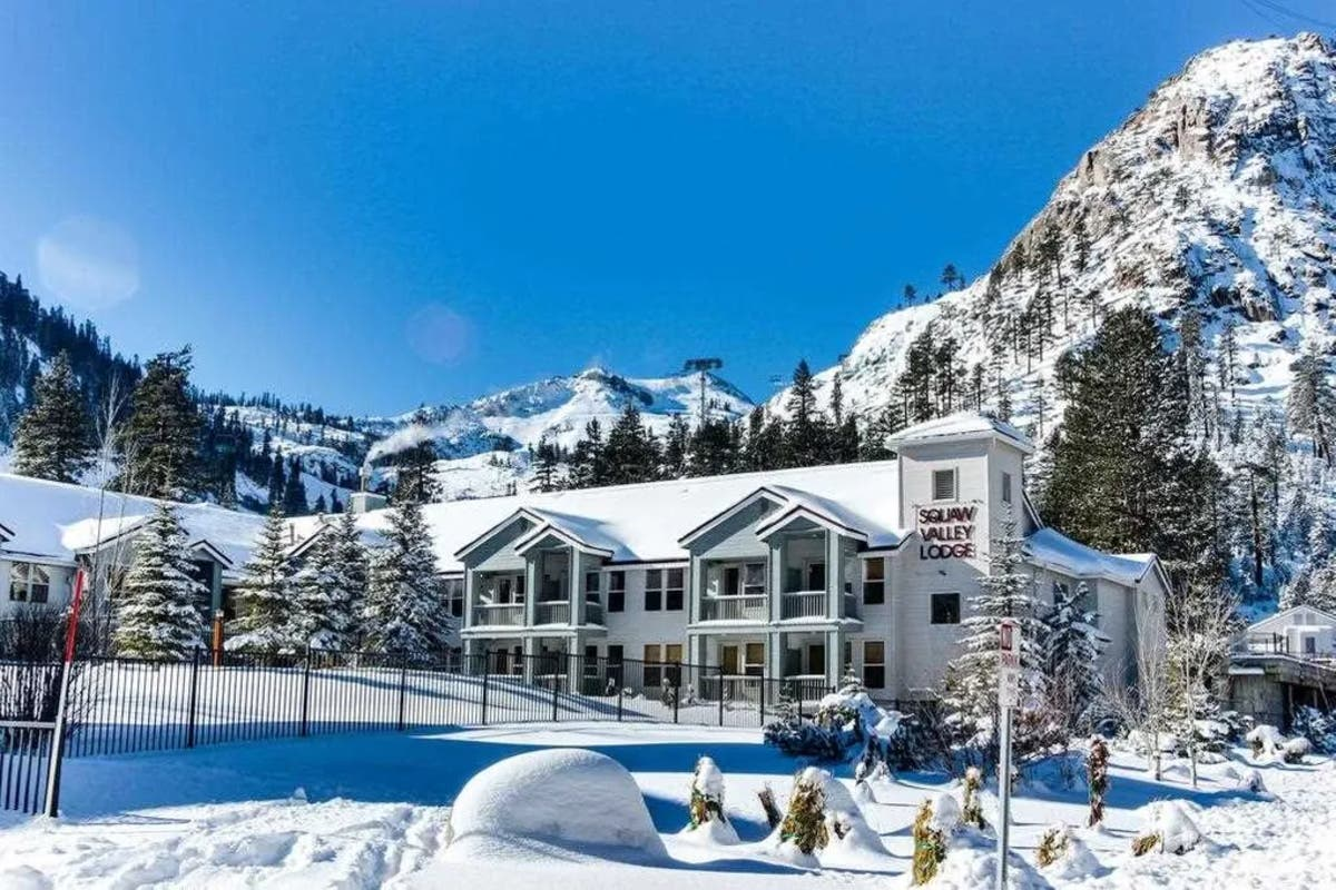 It's All Downhill At Squaw Valley Condo - But In A Good ...