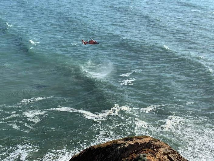 Hang Glider Killed Off Coast
