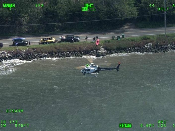 2 Separate Rescues Of Kayakers Made Over Easter Weekend