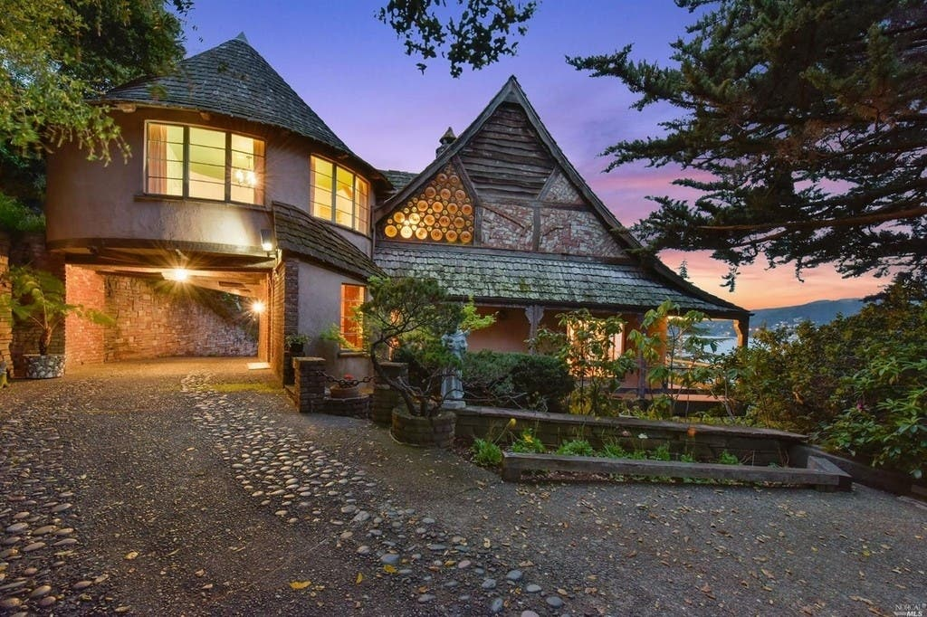 Whimsical, Heidelberg 'Storybook' Home For Sale In Belvedere | Mill