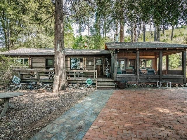 Mountain Cabin With Pond Amp Orchards For Sale In Julian