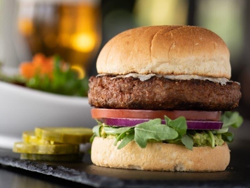 Vegan Fans Yard House Adds Plant Based Burger To Menu