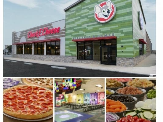 Chuck E. Cheese To Celebrate Peninsula Makeover With Party