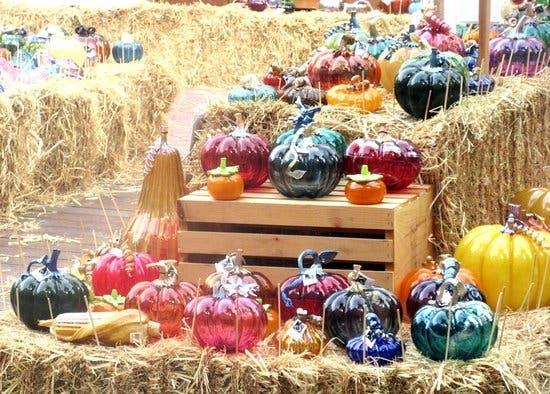 Glass Pumpkin Festival 2019: Santana Row, San Jose