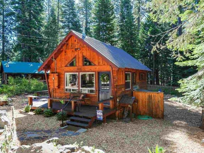 Sweetpea Of A Cabin Hits Tahoe Market: Below $500K