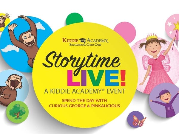 Curious George & Pinkalicious Storytime: Kiddie Academy Cupertino