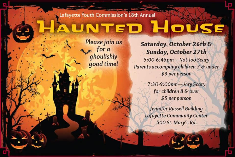 Oct 26 Youth Commission S Annual Halloween Haunted House 2019