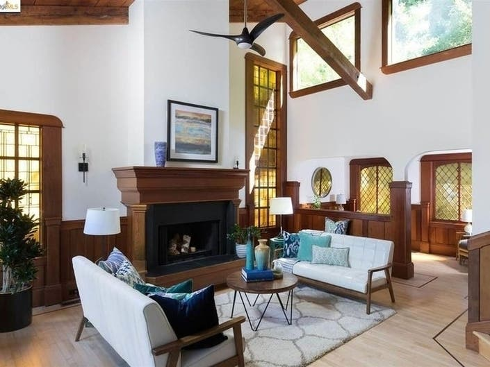 Keepin It Cozy In CA: Homes With Unique Fireplaces Now On Market