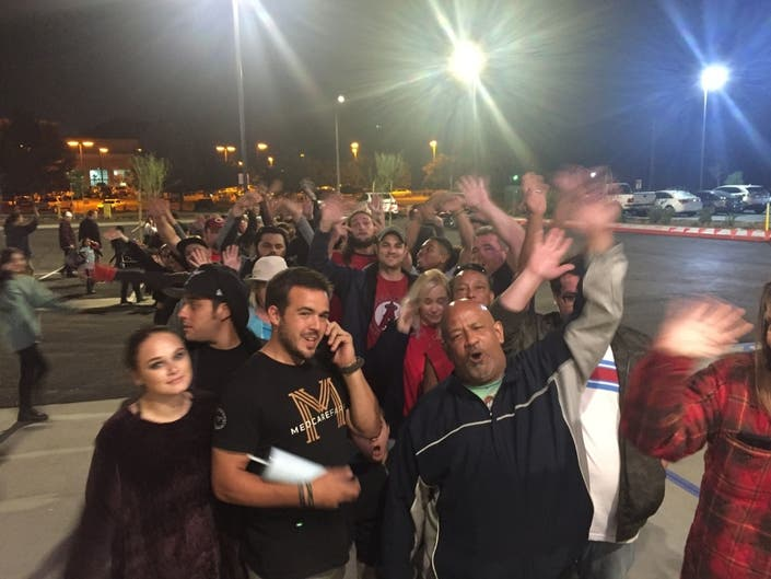 Die-Hard, Chick-fil-A Fans Camp Out In Lake Elsinore: PHOTOS