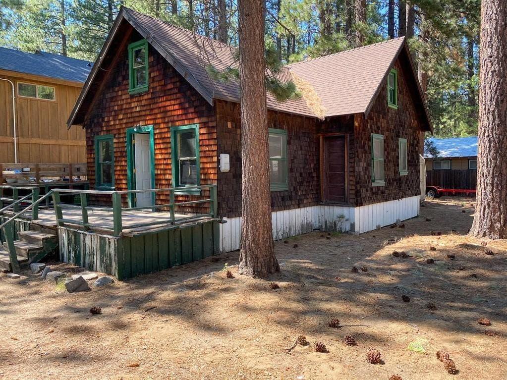 Diamond-In-The Rough Cabin Near Beach: For Sale In So. Lake Tahoe