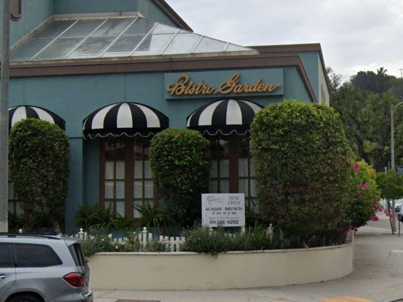 Bistro Garden At Coldwater Closing After 30 Years In SF Valley