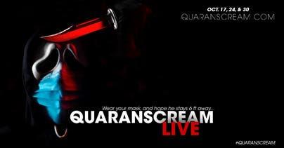 Halloween 2020 In Theaters Near Me Oct 17   'QuaranSCREAM Live' Theatre   Halloween 2020: Greater