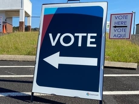 A mobile voting unit will be on-site this week at the Fred Hesse Jr. Community Park in Rancho Palos Verdes, CA.