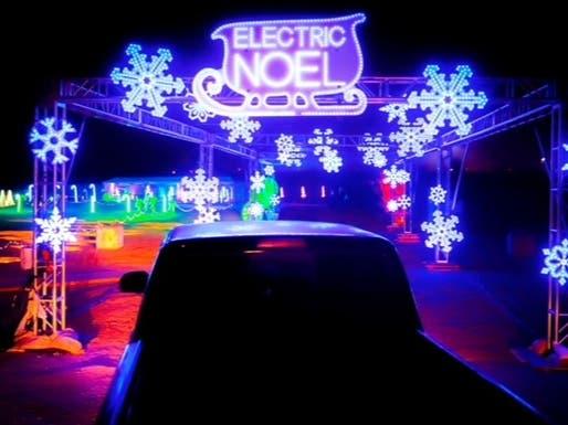 Christmas Lights Drive To Near San Bernardino 2021 Dec 5 Electric Noel Holiday Lights Drive Thru Experience 2020 Norco Lake Elsinore Ca Patch