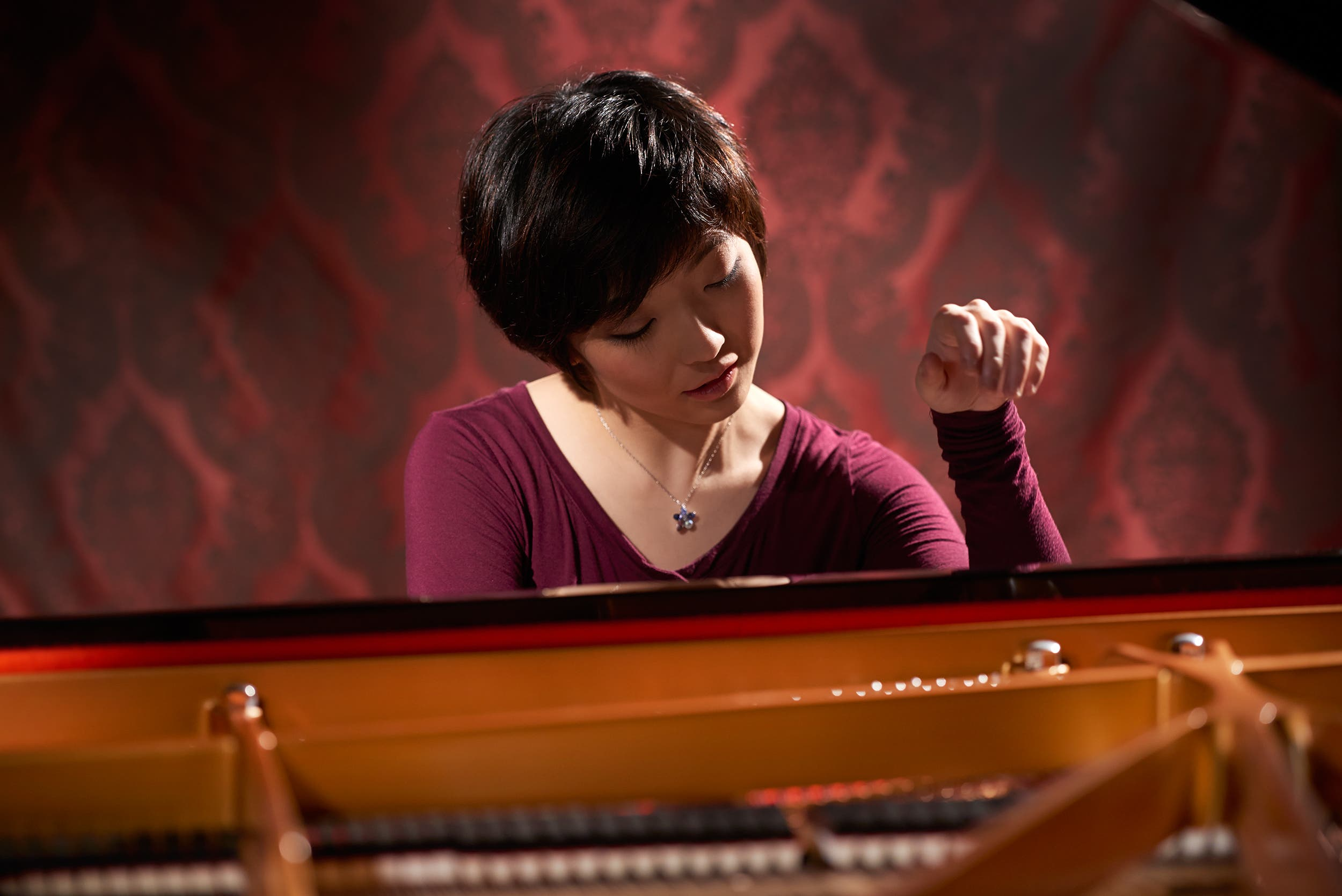 Pianist Claire Huangci: At-Home Concert 2021: Steinway Society, San Jose