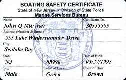 Sep 14   NJSP Boat Safety Certification Class in Magnolia