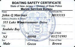 Boat Safety Course Exams