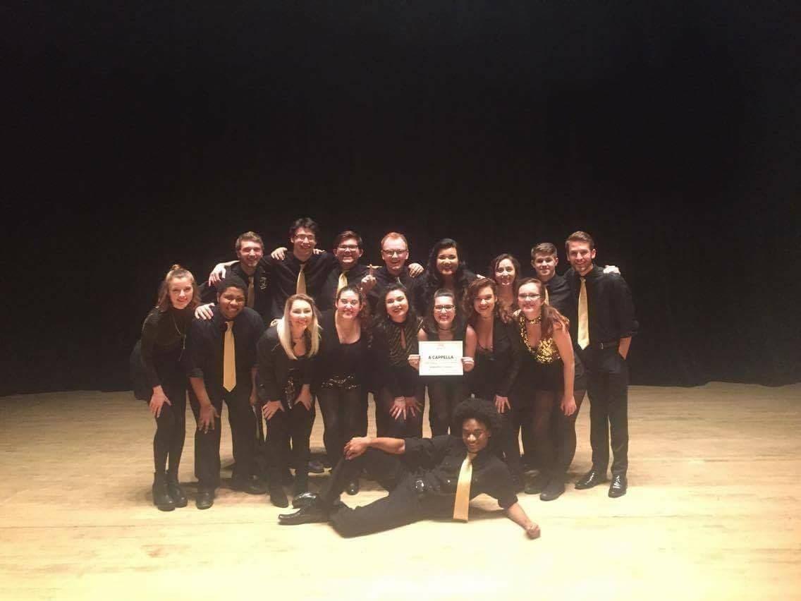 Oakland University's Gold Vibrations a cappella group wins
