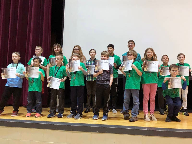 Students Multiply Success at Math Challenge