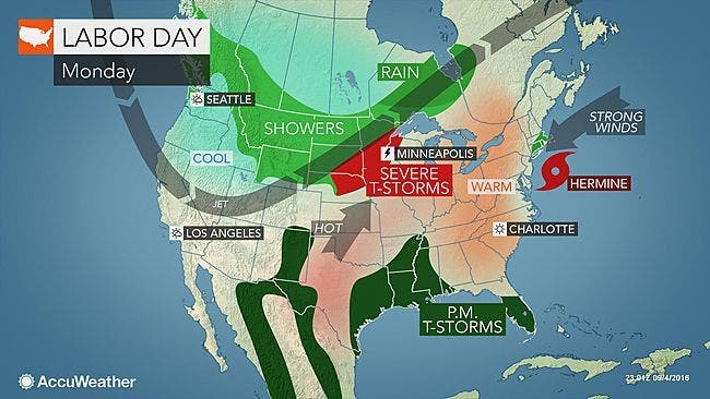 Connecticut Weather Forecast for Labor Day: Latest Update on
