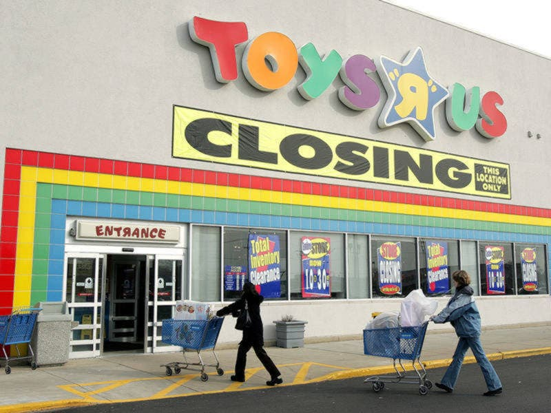 Everything Must Go Ct Toys R Us Babies R Us Closing Sale On Now