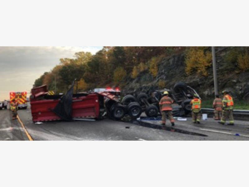 id released in fatal i 95 dump truck accident in milford milford