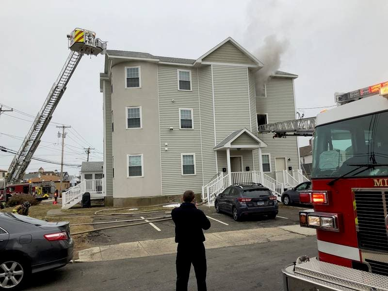 Milford Apartment Complex Severely Damaged In Fire