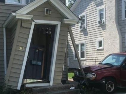 Car Crashes Into House; Big Bronze Tiger Unveiled: CT News