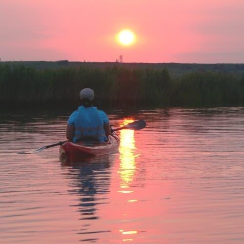 Aug 29 | Arboretum Explorers: Meadowlands Sunset Kayak Tour | Summit