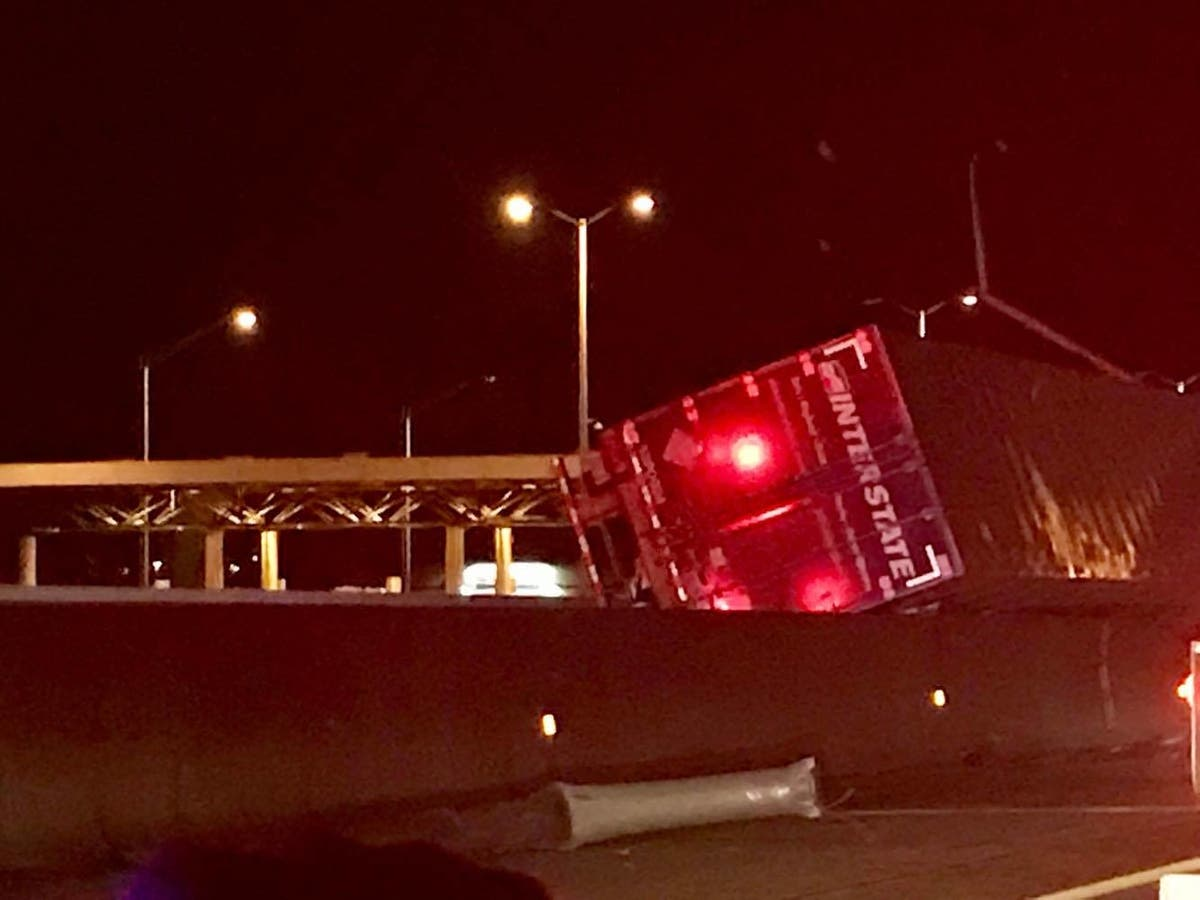 I-355 Crash: Lanes Blocked For Semi-Truck Accident