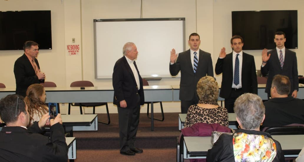 3 New Fairfield Police Officers Sworn In   Fairfield, CT Patch