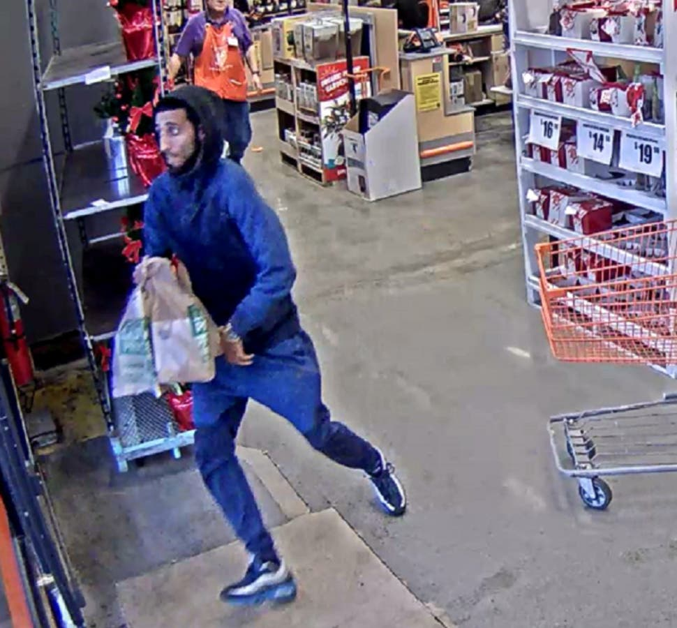 Man Stole 1 1k Worth Of Items From Home Depot Fairfield Police Fairfield Ct Patch