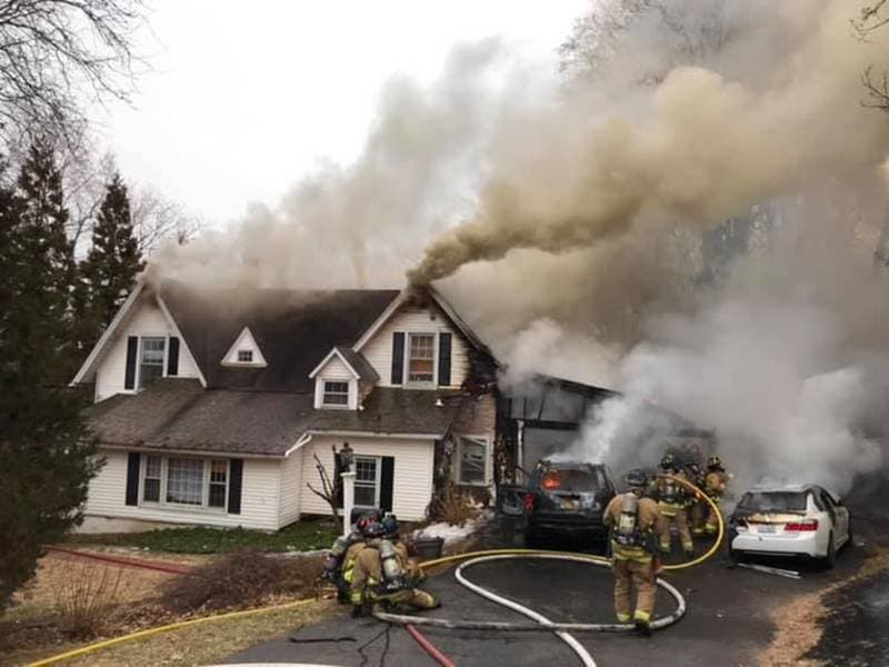 Fire Displaces Family, Significantly Damages West Hartford Home